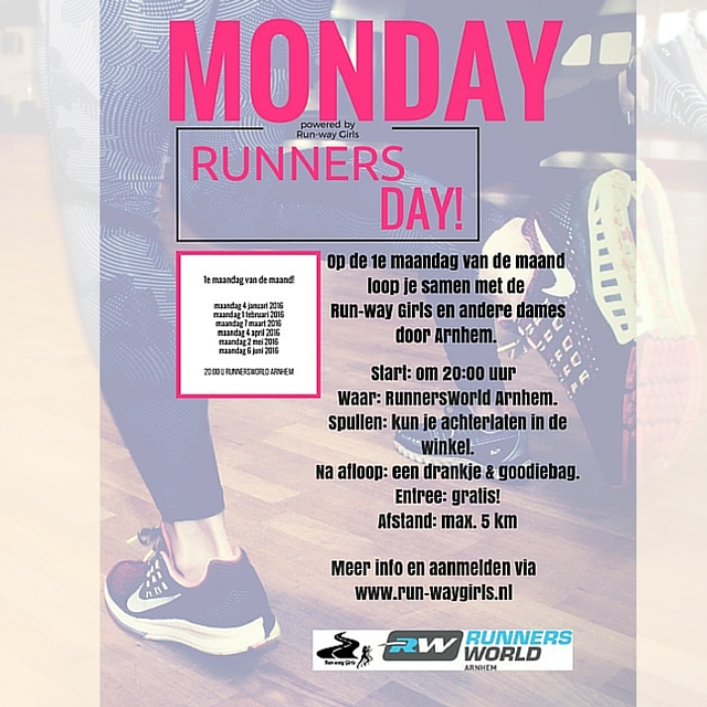 Monday Runners Day