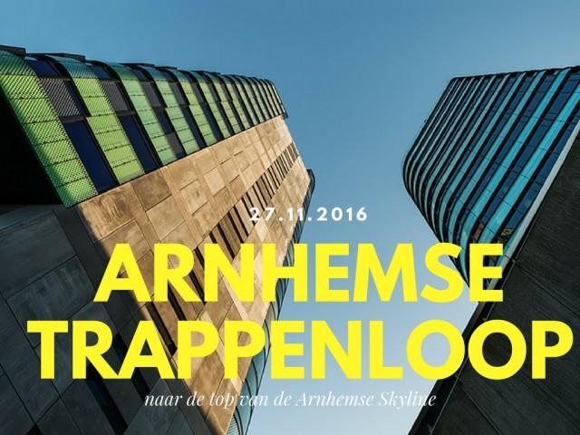 De Arnhems Trappenloop: naar de top van de Arnhemse Skyline